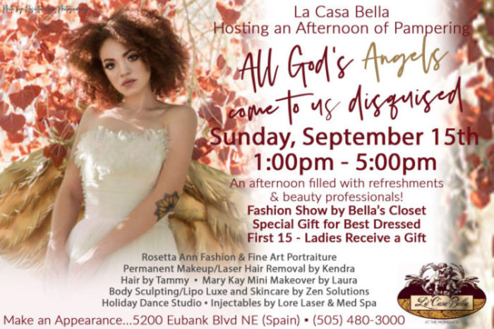 All God's Angels Come To Us Disguised, La Casa Bella