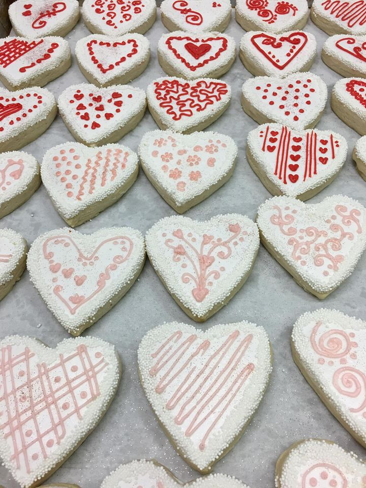 Special-Touch-Catering-Valentine Cookies